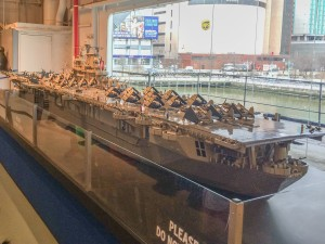 LEGO Model Of Intrepid